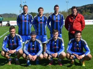 Die siegreiche Elite-Mannschaft von Wigoltingen.
